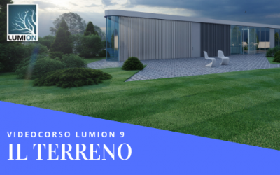 Video Corso Lumion 9 : IL TERRENO